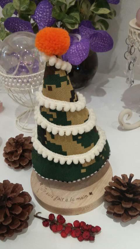 手作りクリスマスツリー*・'(*゚▽゚*)'・*.。. ・゜゚・